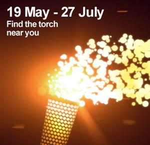 Olympic Torch relay route through Brighton and Hove